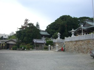 石屋神社の拝殿