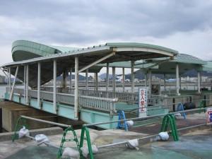 津名港 船乗り場跡