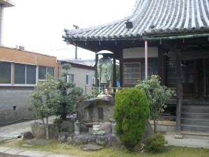 専修寺の親鸞聖人の像