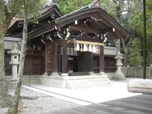 伊弉諾神宮 本殿