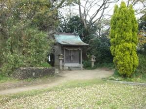 神木神社が見えました