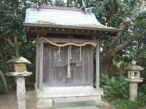 神木神社 拝殿