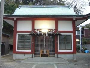 恵比須神社 拝殿