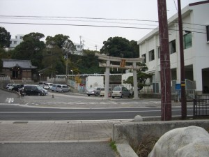 岩屋にある八幡神社