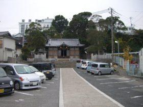 岩屋八幡神社 境内