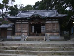 岩屋八幡神社 拝殿