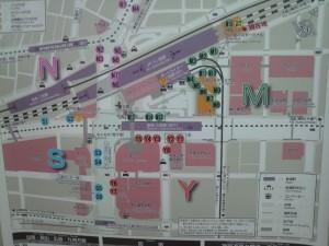 三宮バスターミナル地図
