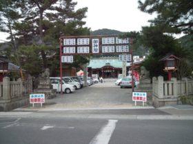淡路島は洲本の厳島神社へやってきました