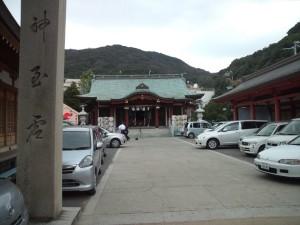 厳島神社(洲本) 拝殿