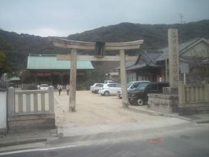 国瑞彦護国神社 鳥居