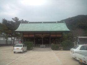 国瑞彦護国神社 拝殿