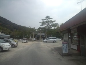洲本八幡神社へやってきました