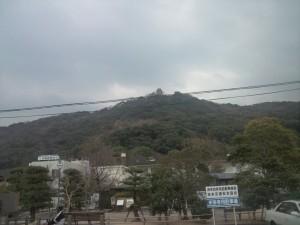三熊山の洲本城