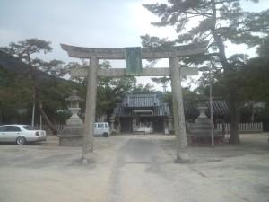 洲本八幡神社 鳥居
