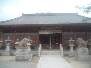 洲本八幡神社 拝殿