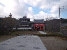 護国寺 山門と本地堂