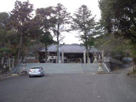 賀集八幡神社 拝殿