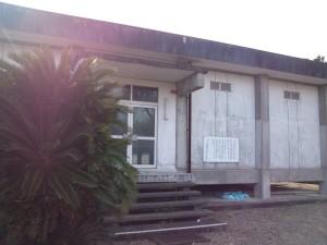 閉館中の南淡町歴史民俗資料館
