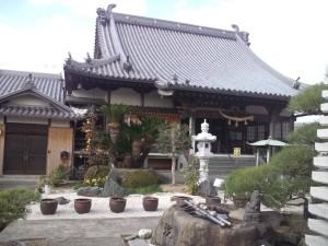 賀集山万福寺 本堂