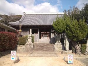 八坂神社(南あわじ市北阿万) 拝殿