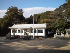 神代八幡神社 社殿