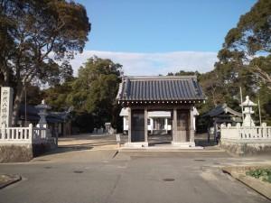 神代八幡神社 山門