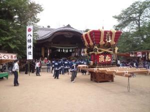 志筑八幡神社 社殿