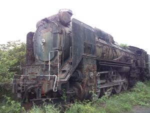 平和観音寺 蒸気機関車
