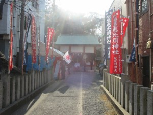 恵比須神社の社殿