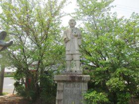 高田屋嘉兵衛翁 石像