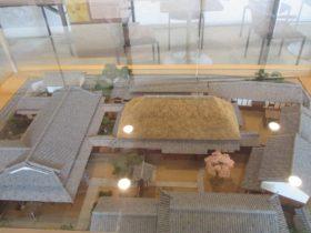 高田屋嘉兵衛邸宅の復元模型