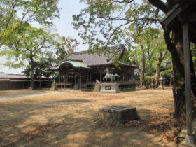 都志八幡神社 拝殿